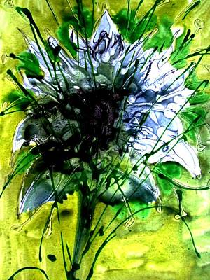 Impressionist Landscapes - Heavenly Flowers by Baljit Chadha