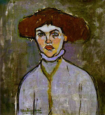 Photograph - Amedeo Modigliani  by Amedeo Modigliani
