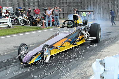 Wall Art - Photograph - 1543 05-21-16 Esta Safety Park Drag Racing by Vicki Hopper