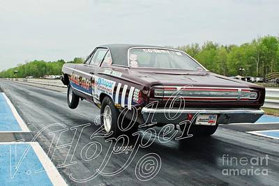 Wall Art - Photograph - 1551b 05-21-16 Esta Safety Park Drag Racing by Vicki Hopper