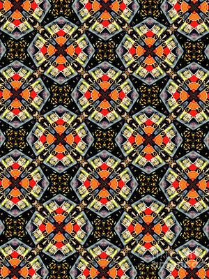 Patterned Digital Art - Unique Design Pattern by Amy Cicconi