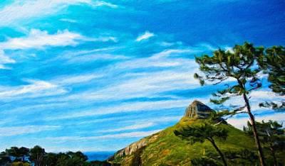 Sky Painting - Landscape Nature Art by Margaret J Rocha