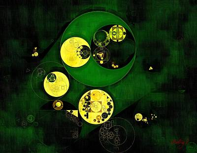Onyx Digital Art - Abstract Painting - Onyx by Vitaliy Gladkiy