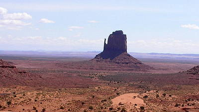 Tea For One Photograph - America - East Mitten Butte by Jeffrey Shaw