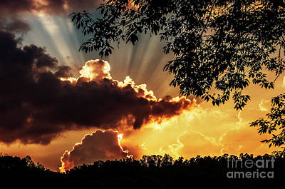 Art Print featuring the photograph Appalachian Sunset by Thomas R Fletcher