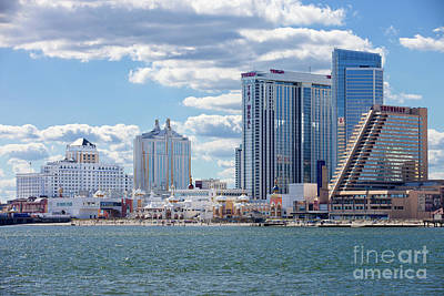 Abstract Graphics - Atlantic City New Jersey by Anthony Totah