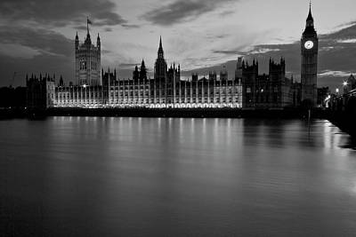 Photograph - Big Ben And The Houses Of Parliament by David French