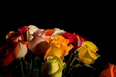 Photograph - Bouquet by Avril Christophe