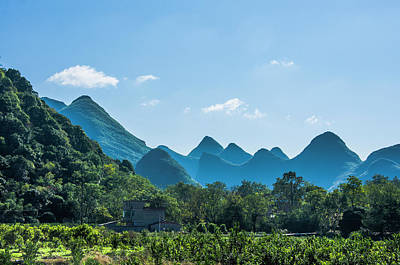 Photograph - Countryside Scenery In Autumn by Carl Ning
