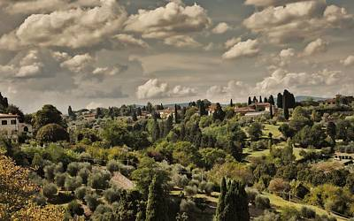 Photograph - Florence Italy by Cendrine Marrouat