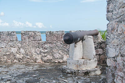 Digital Art - Fort Of San Felipe In Bacalar by Carol Ailles