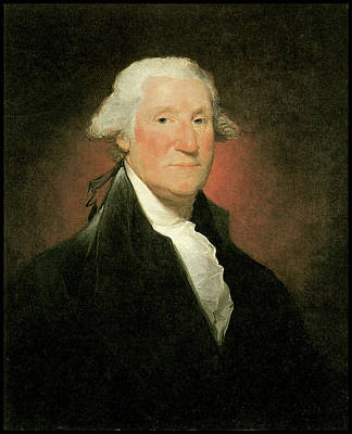 Photograph -  George Washington  by Gilbert Stuart