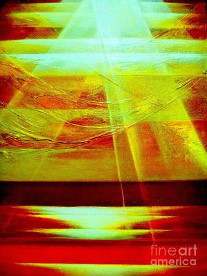 Brilliant Sun Painting - Hope by Kumiko Mayer
