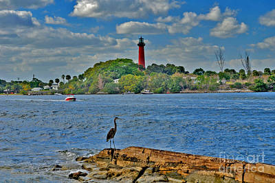 Photograph - 16- Jupiter Lighthouse by Joseph Keane