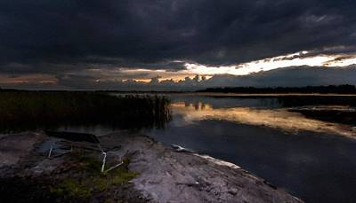 River Digital Art - Landscape Pictures by Victoria Landscapes