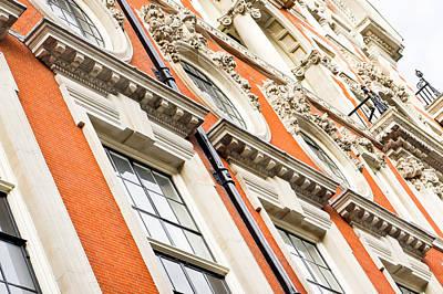 Ancient Apartments Photograph - London Building  by Tom Gowanlock