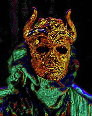 Cersei Photograph - Mask. The Sons Of The Harpy. Fantasy. by Andy Za
