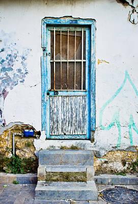 Old Door Art Print by Tom Gowanlock