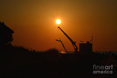 Photograph - 16- Pumphouse Sunrise by Joseph Keane