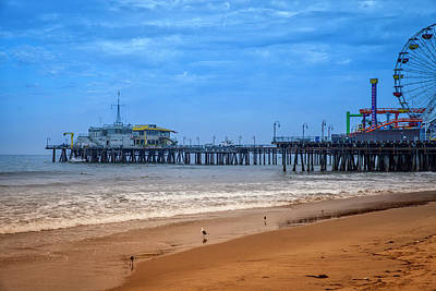 Photograph - Santa Monica Pier Collection-19/36 by Gene Parks