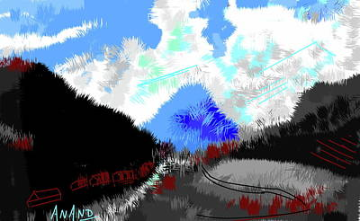 Digital Art - Splendors Of Himalayas-2 by Anand Swaroop Manchiraju