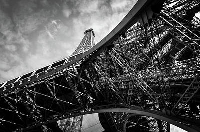 Photograph - The Eiffel Tower In Paris by Dutourdumonde Photography