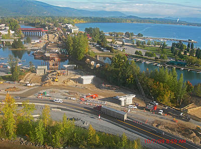 Photograph - 16 Through Downtown Sandpoint by Jerry Luther