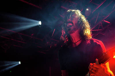 Photograph - Uk Foo Fighters Live @ Edinburgh by Edyta K Photography