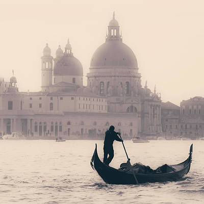Transportation Photograph - Venezia by Joana Kruse