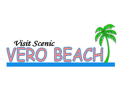 Vero Digital Art - Vero Beach Florida by Brian's T-shirts
