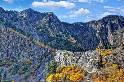 Photograph - Wasatch Mountains Of Utah by Douglas Pulsipher