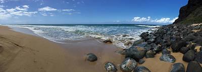 Photograph - 160 West Poli Hale Beach by Steven Lapkin