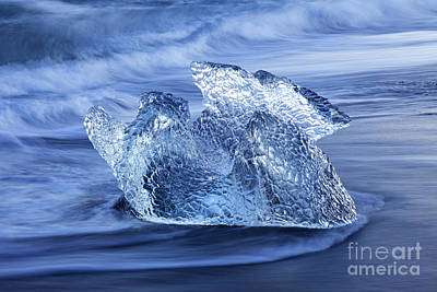 Photograph - Ice On Beach by Arterra Picture Library