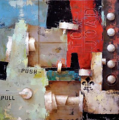 Painting - 16.036 - The Ballad Of Tom Joad by Ken Berman