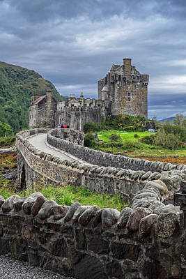 Photograph - Eilean Donan Castle, Scotland by Arterra Picture Library