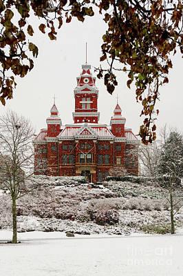 Photograph - Snowy Whatcom Museum In Bellingham, Wa by Paul Conrad