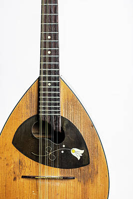 Photograph - 16.1845 Framus Mandolin by M K  Miller