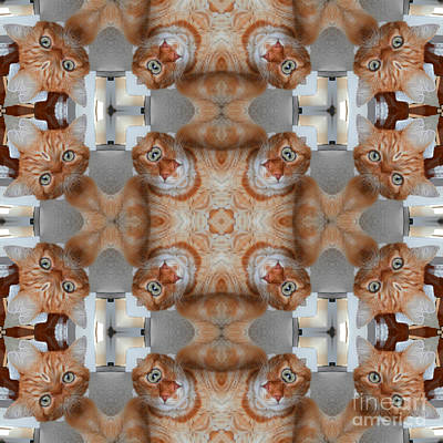 Firefighter Patents Royalty Free Images - Kaleidoscopic ornaments Royalty-Free Image by Miroslav Nemecek