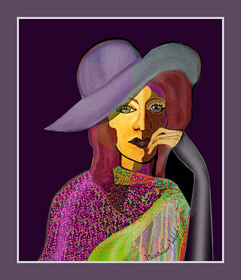 1634 - My Eyes Have Seen It All 2017 Art Print by Irmgard Schoendorf Welch