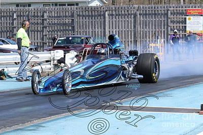 Wall Art - Photograph - 163907 04-24-16 Esta Safety Park Drag Racing by Vicki Hopper