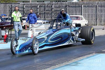 Wall Art - Photograph - 163909 04-24-16 Esta Safety Park Drag Racing by Vicki Hopper