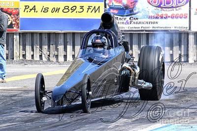 Wall Art - Photograph - 163918 04-24-16 Esta Safety Park Drag Racing by Vicki Hopper