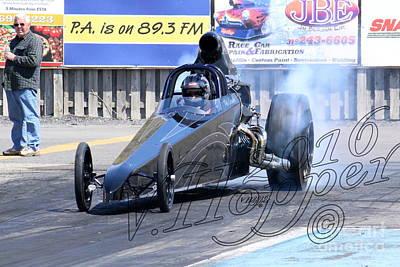 Wall Art - Photograph - 163919 04-24-16 Esta Safety Park Drag Racing by Vicki Hopper