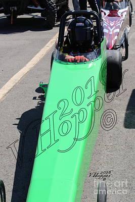 Wall Art - Photograph - 163945 04-24-16 Esta Safety Park Drag Racing by Vicki Hopper