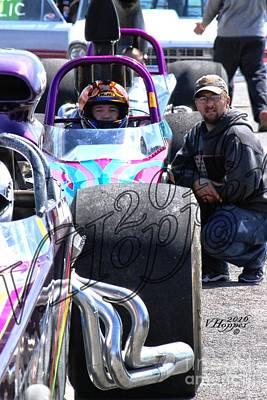 Wall Art - Photograph - 163949 04-24-16 Esta Safety Park Drag Racing by Vicki Hopper