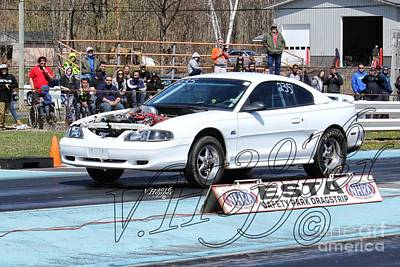 Wall Art - Photograph - 163977 04-24-16 Esta Safety Park Drag Racing by Vicki Hopper