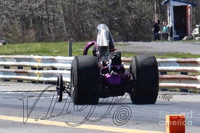 Wall Art - Photograph - 163989 04-24-16 Esta Safety Park Drag Racing by Vicki Hopper
