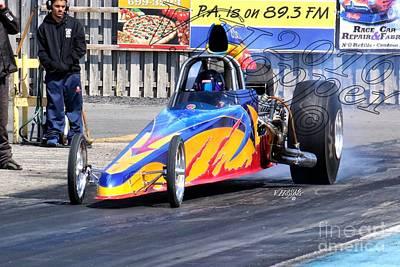 Wall Art - Photograph - 163999 04-24-16 Esta Safety Park Drag Racing by Vicki Hopper