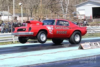 Wall Art - Photograph - 164031 04-24-16 Esta Safety Park Drag Racing by Vicki Hopper