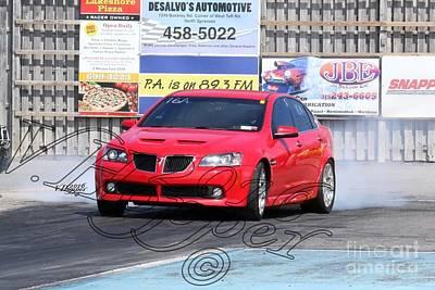 Wall Art - Photograph - 164059b 04-24-16 Esta Safety Park Drag Racing by Vicki Hopper